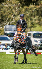 Winner of the Jolley Farms – 1.10m Bronze Cup – Connor Reed and 'Dollar Girl MS'