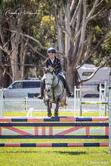 Ella Manning riding 'Wychwood' picked up wins in the Open 95cm and Open 1.0m and rode Orleans Graetz's - Redline Classic Edition for a win in the Centurion Steel Supplies 75cm
