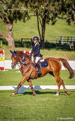 Ever consistent and making their way up through the junior ranks – Millicent Quigley-Smith and 'EABS Moretti' – Winners of the 'Thompson and Redwood' Junior Series.