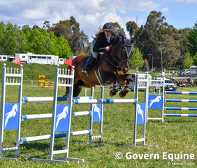 Caitlin Brewer and Celeborn Ego Z took all the angles in the Grand Prix jump off