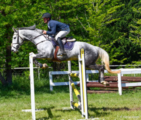 Clint Beresford in the Grand Prix this time aboard Emmaville Dontango