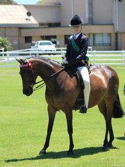Reserve Champion Junior rider Kaitlyn Phillips