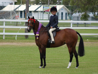 Cariad Park Forever True and Lyla Russell Champion Pony