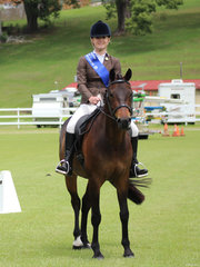 Reserve Champion Adult rider  Summer Chaseling