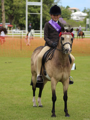 Champion Junior rider Anastasia Blanch