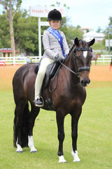 Reseve Champion Junior rider Zali Greeney