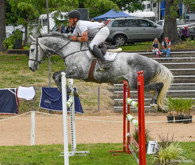 Clint Beresford and Emmaville Dontango on day 1