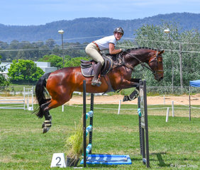 Event rider Tori Doak and Blackall Park Rap. This stunning pair caught the eye of many over the weekend.