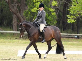 Kasperado D'Andreas and Hannah Mlynarz are making a marvellous duo as they claimed Champion Show Hunter Galloway
