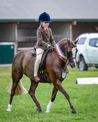 Another former SA star Owendale Beesting & a very rapidly growing Sienna Mullan looked terrific together and continue to form their partnership. Sienna was all smiles taking home the Champion Hunter Pony sash