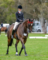 As always Natalie McKays was still smiling despite the rain & all their hard work at home paying off on her qualitly thoroughbred gelding St Andrews with a height class win and then Champion Hack over 16hh in ring