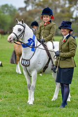 Louie (Arcadian Enforcer) was simply a star for Sarah Abrahams says proud mum Ingrid. Pictured is Sarah, Louie & mum after winning the Leading Rein Hunter Pony, then onto another two wins in their ridden Hunter Pony and the Owner Rider classes.