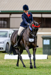 Rain, hail or shine ever smiling Chanelle Hunter Cooke & her multi royal winning  Daisy Patch Soul Star won the Galloway over 14hh n.e 14.2hh class & went on to claim Reserve Champion to her good friend Briony Randle