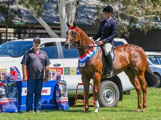 Greg Mickan was as always doing Team Barastoc proud claiming yet another champion win pictured with well known nutrition guru Andrew Soper