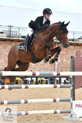 Lucy Locke rode the wonderful, 'Quero Quero' by Quidams Rubin to fourth place in the Young Rider Championship.