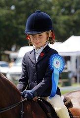 Marley Thorpe Heal won the Rider under 9 years