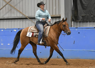 Steph Lancefield riding Perfect Revolution in Ranch Riding.