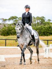 Bella Mirelle SBA, Silver Champion,  Preliminary for Sabble Farm