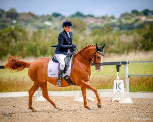 Nhairobi , Silver Champion Medium ridden by Mandy Lewis