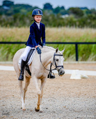 Westacres Glamour & Ava Holland,  Silver Champion Youth Preparatory Dressage