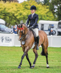Fiona Kitsen Walsh rode her Small Galloway Langtree Royal Affair beautifully to be the Barastoc Reserve Champion for 2021 which completed a terrific show following on from Amedues's win with Greg Micken in the saddle.