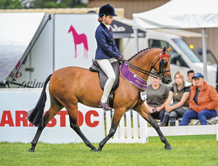 Amelia Petrie had a sensational Friday morning on week one of Barastoc going Runner Up Large Child's Pony with Pemberly Whisper & gaining a National spot on the Vic Team after only a mere three shows together.