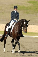 Courtney Larard from NSW rode Rosebrook Apollo in the Ride In Style Advanced 5.2 to score 54.7%.