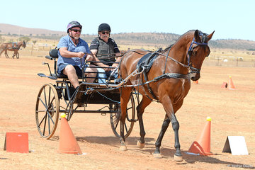 Michael Eylward driving 'Betting Man'