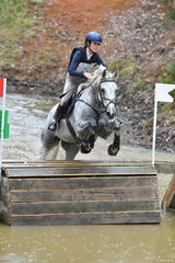 Erin Callahan and 'Danson Lincoln' show the good form that saw them take fifth place in Section 2 of the Horseland CCI***.