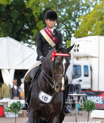 Courtney Larard was Runner Up Grand Champion Rider over 18 years. Runner Up wins a pearl necklace,  donated by Cerrone Jewellers.