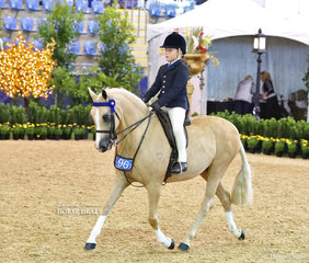 """Chase Jackson rode """"Elvonara Park Kandyman"""" to a Top 5 placing in the MELBROCK PARK Rider 9 & under 12 years event."""