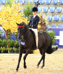 Elizabeth Taylor finished Top 10 in the LORELLE MERCER PHOTOGRAPHY Rider 12 & under 15 years event.