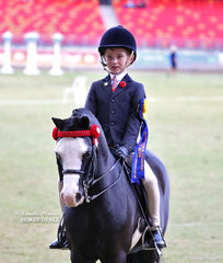 Reserve Champion Junior Boy Rider Harrison Galloway-Smith.