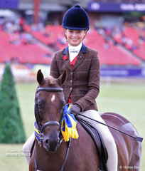 Reserve Champion Show Hunter Pony went to 'Yartarla Park Show Scene' and the always smiling Jessica Callus.