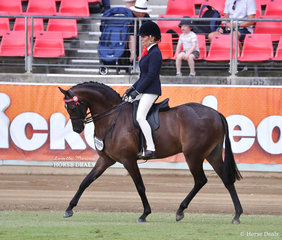 'Wakefield Classic' and Renae Dorney placed third in the Novice Pony, over 13.2hh & n.e. 14hh class.