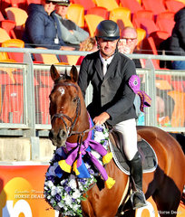 Most Successful Rider in the Showjumpring Contests at this year's Show -  Thomas McDermott.