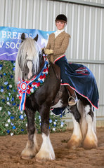 Flying the flag for the Drum Horse, Brooke Verwey-Mitchell and Rumneyhill Shokora had a cracking weekend, with the Supreme Rider award as one of the highlights.