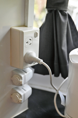 "Stallion installed 12V power outlets and USB ports. ""For the times we are not plugged into 240V, we went to a caravan shop and purchased some portable travel appliances that are made to plug into a car cigarette lighter socket. We have a kettle and a little warming oven which are very useful."""