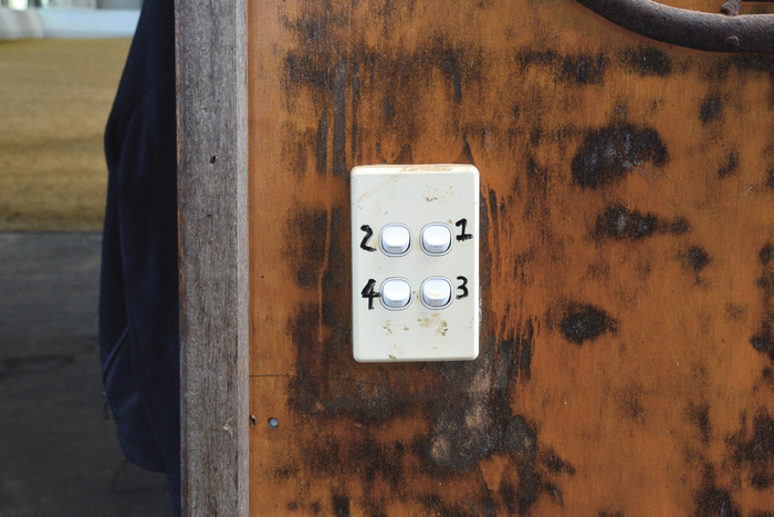 Each box in Mark's barn has its own light which is turned on separately. If you want to check one horse at night, you need only turn on its light. It is less disturbing for the others.
