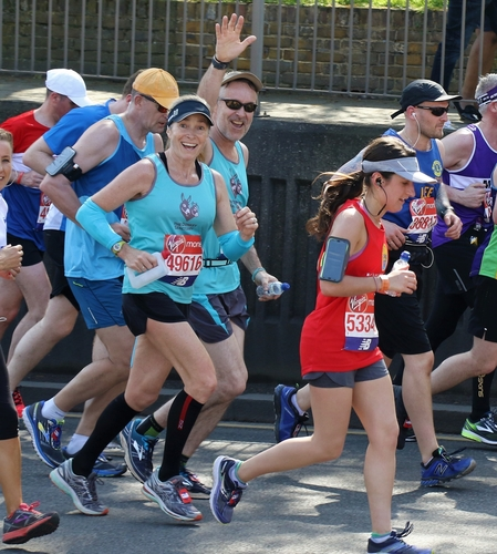The Donkey Sanctuary - Runners at a previous London Marathon