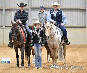 Heidi Bast and Donna Brister Co Reserve Champions in Green Rider L1
