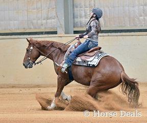 Chromosone ridden by Adelaide Osler.