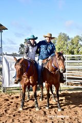 Natalie and John Camilleri won the Western Heritage All Levels class