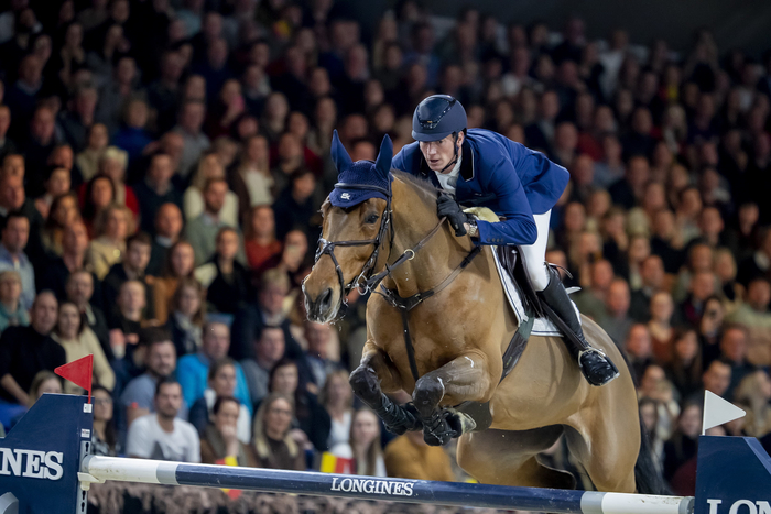 German Olympian Daniel Deusser takes Longines world number one slot. (FEI/Dirk Caremans)