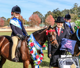 Champion Leading Rein -Silkwood Heaven for Sure - Imogen Hay and Kirsty Harper Purcell