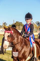 Chloe Blair -  Wyann Safari - RU 6-9 rider