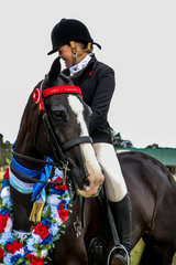 Champion  Small Hack ridden by Ada Spring and owned by Aleisha Goodall. Dreamtime Xacta