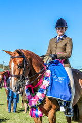 Stoneleigh Holly Go Lightly - Champion Childs Hunter Galloway -Taylah Allen
