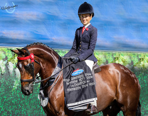 Clare Fedrick - Most Important Champion Newcomer Large Hack and Champion Intermediate Hack