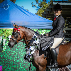 Kirsty Purcell  - Owner Rider Galloway with Vanity Rose